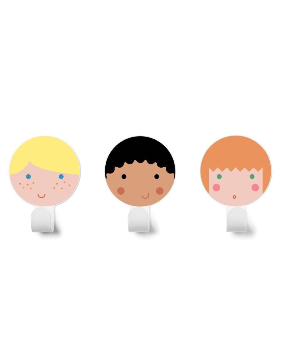 Wall hooks Friends - 1 - kids - tresxics - MyloWonders