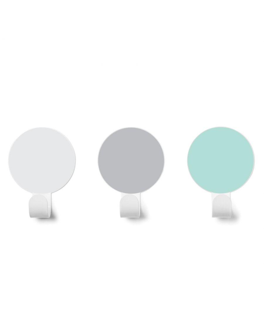 Patères - Vert d'eau / Gris / Blanc - kids - tresxics - MyloWonders
