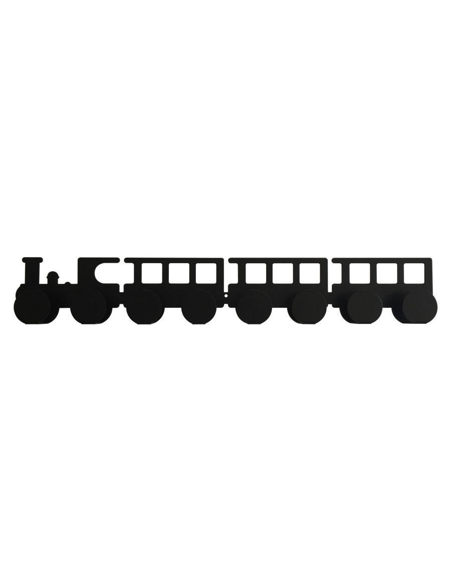 Portemanteau locomotive - Noir - kids - tresxics - MyloWonders