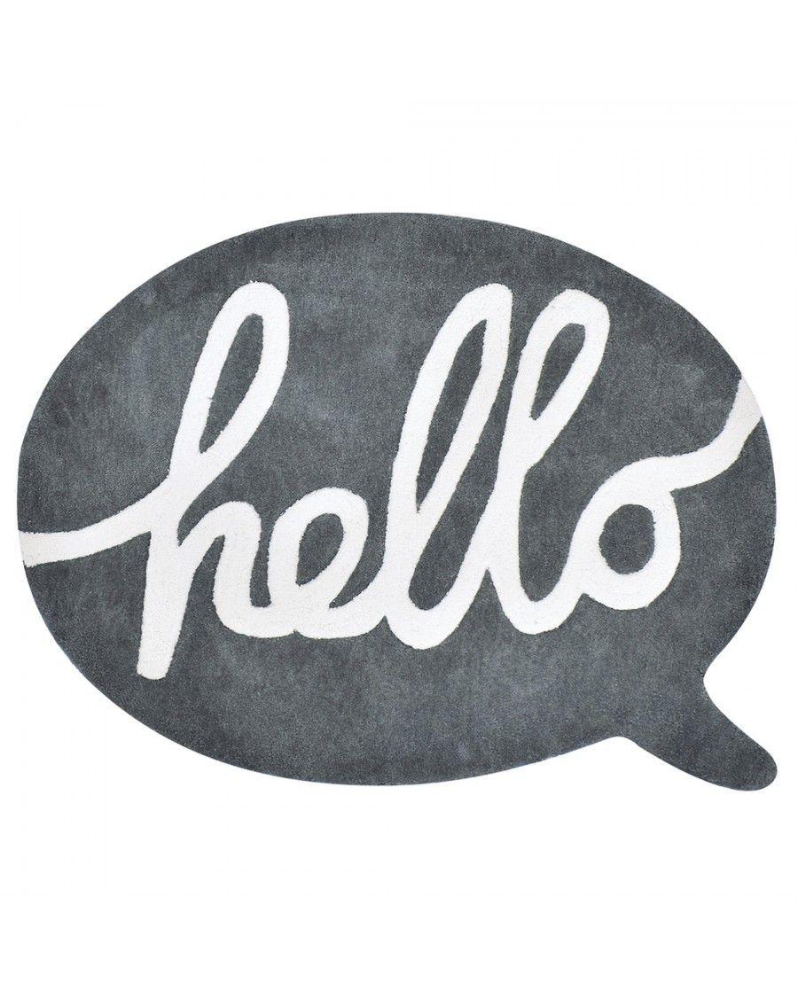 Tapis Hello - lilipinso - MyloWonders