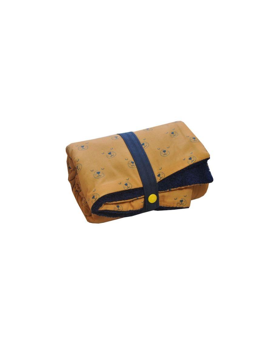 Changing mat - Caramel dog - Blanket - carotte cie - mylowonders