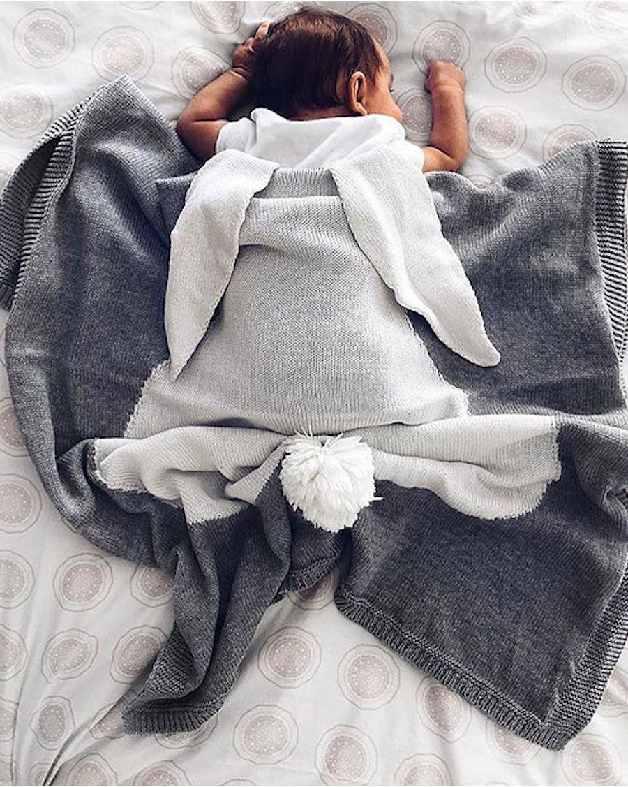 Couverture Lapin - mama siesta - mylowonders