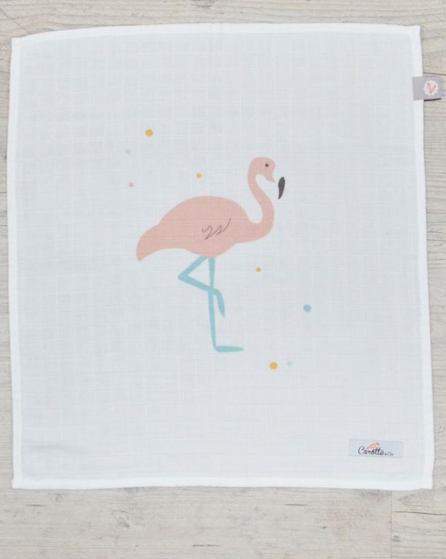 Swaddle - Flamingo - MyloWonders