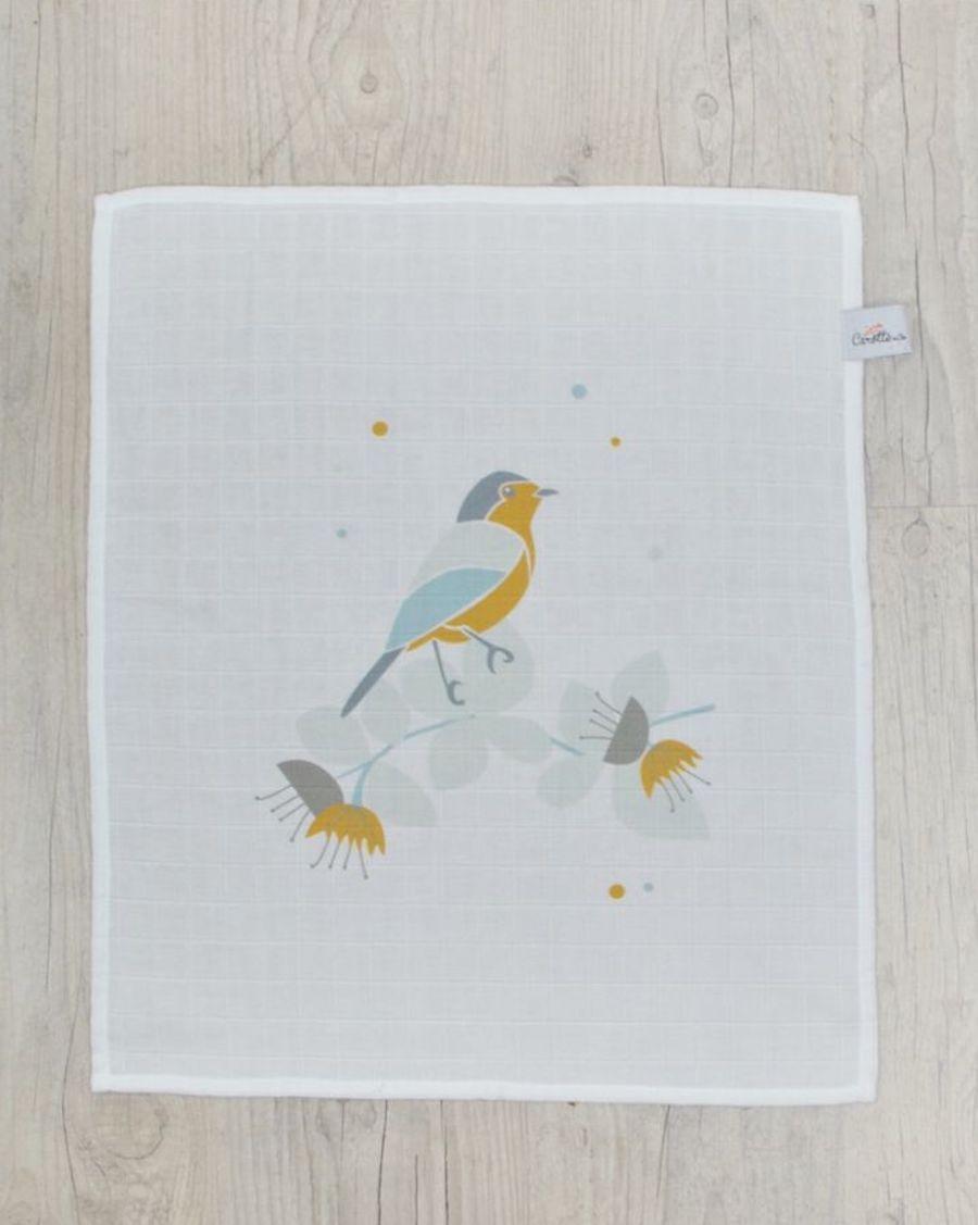 Swaddle - Blue bird - MyloWonders