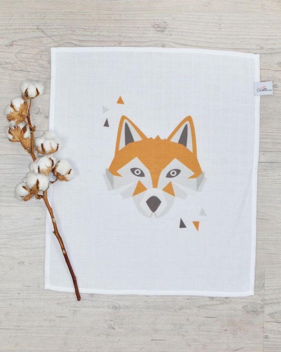 Swaddle - Fox - Carotte Cie - MyloWonders