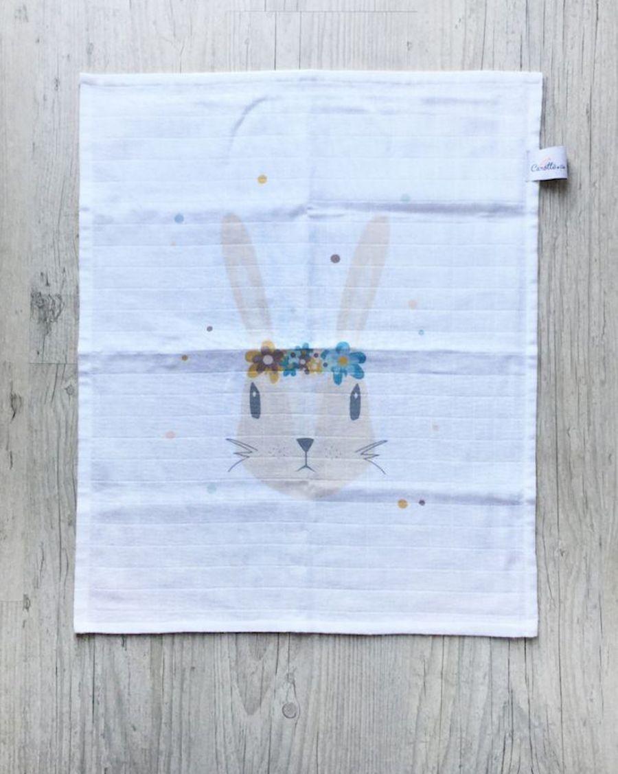 Swaddle - Rabbit - Carotte Cie - MyloWonders