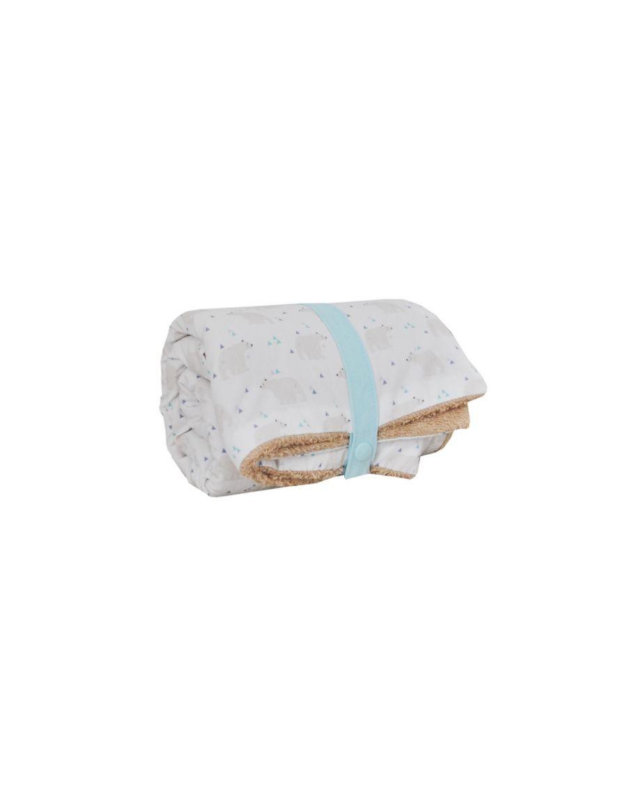 Changing mat - Polar bears - Blanket - Carotte Cie - MyloWonders