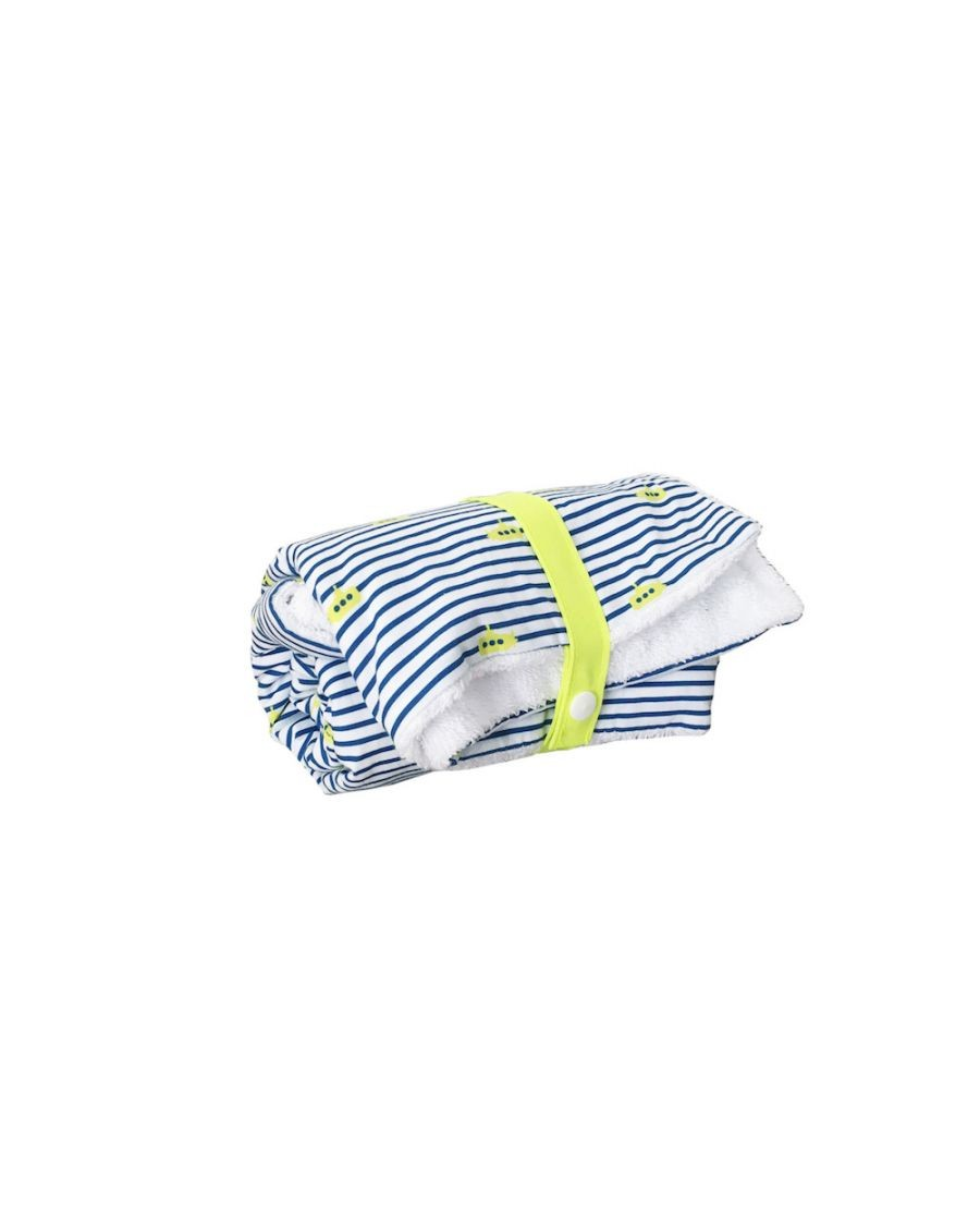 Changing mat - Submarine stripes - Blanket - Carotte Cie - MyloWonders