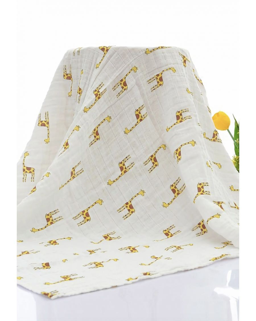 Lange en coton bio Girafe - mama siesta - mylowonders