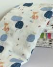 Organic Swaddle Blanket Fox - mama siesta - mylowonders