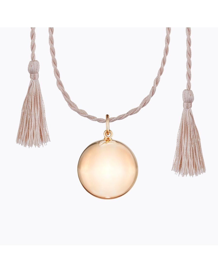 Joy Pregnancy Necklace Pink Gold | Ilado | MyloWonders