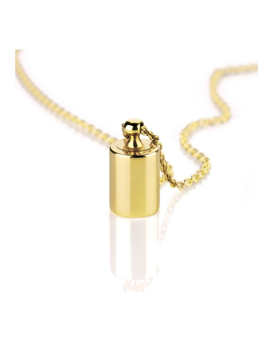 Yellow Gold Necklace My Thousandth by Mon Petit Poids