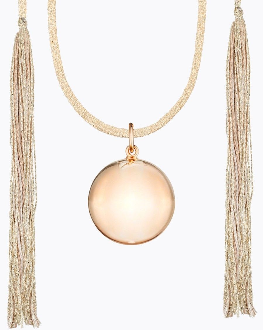 Acapulco Maternity Necklace Pink Gold | Ilado | MyloWonders