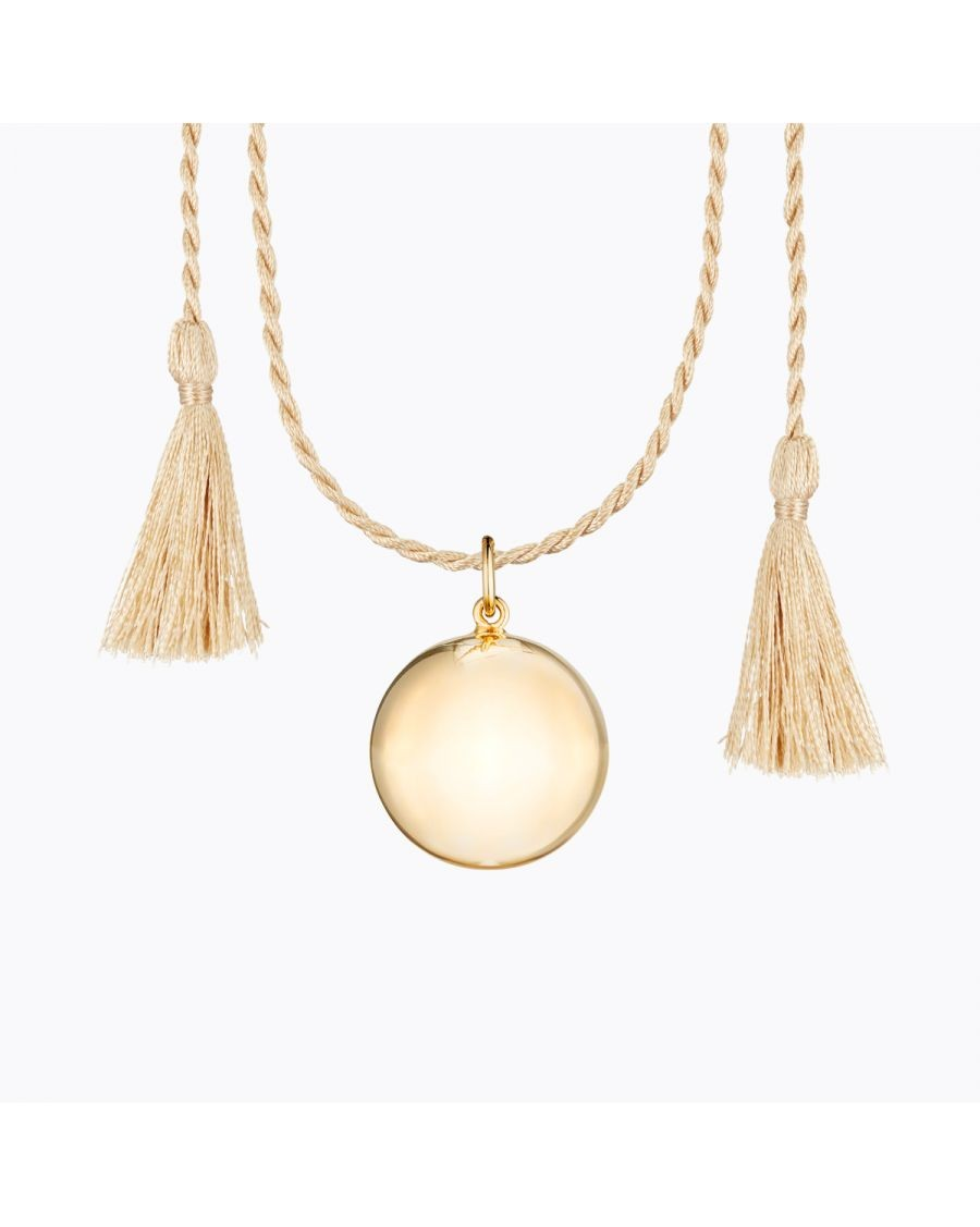 Joy Pregnancy Necklace Yellow Gold | Ilado | MyloWonders