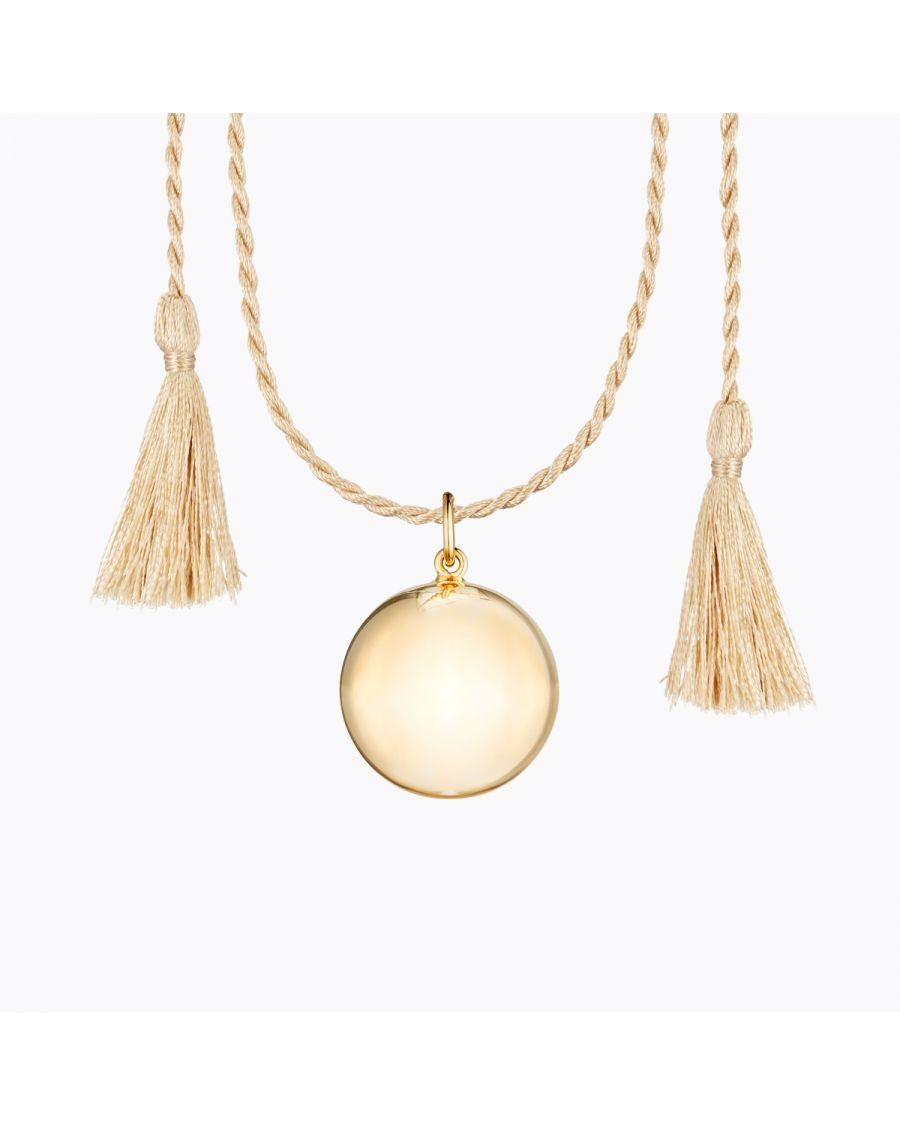 Joy Pregnancy Necklace Yellow Gold | Ilado | MyloWonders