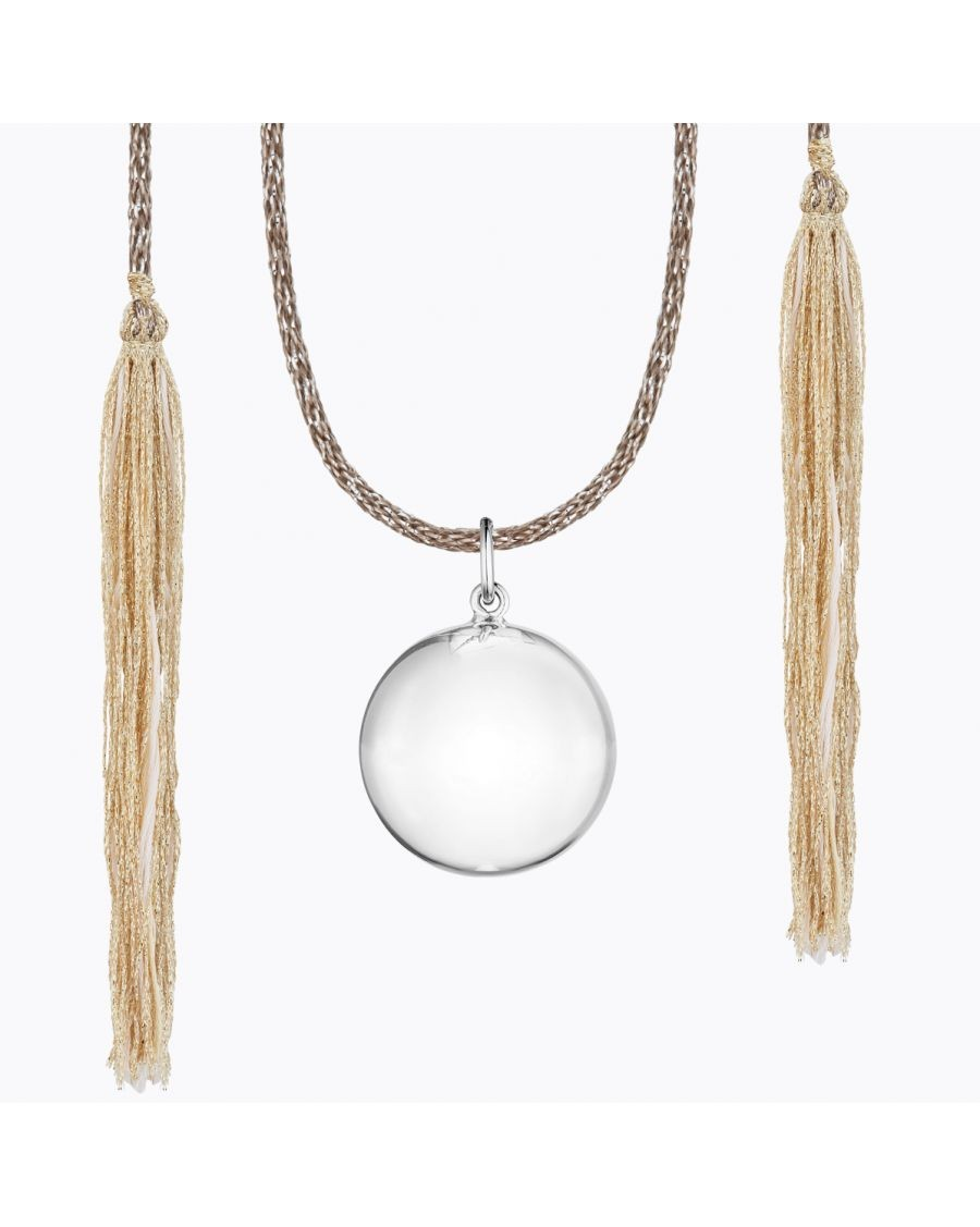 Acapulco Maternity Necklace Silver | Ilado | MyloWonders