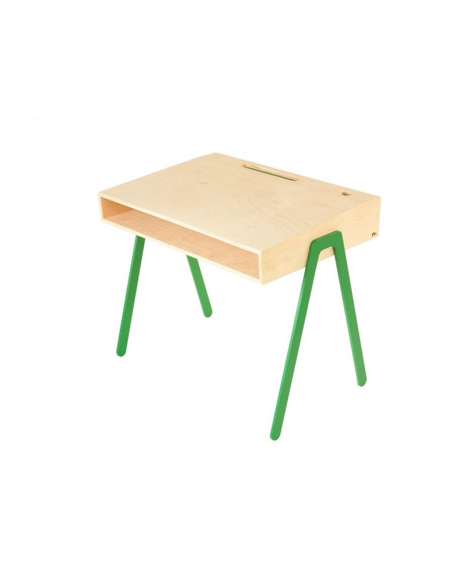 Bureau pour enfant en bois et aluminium - in2wood - kids - mylowonders