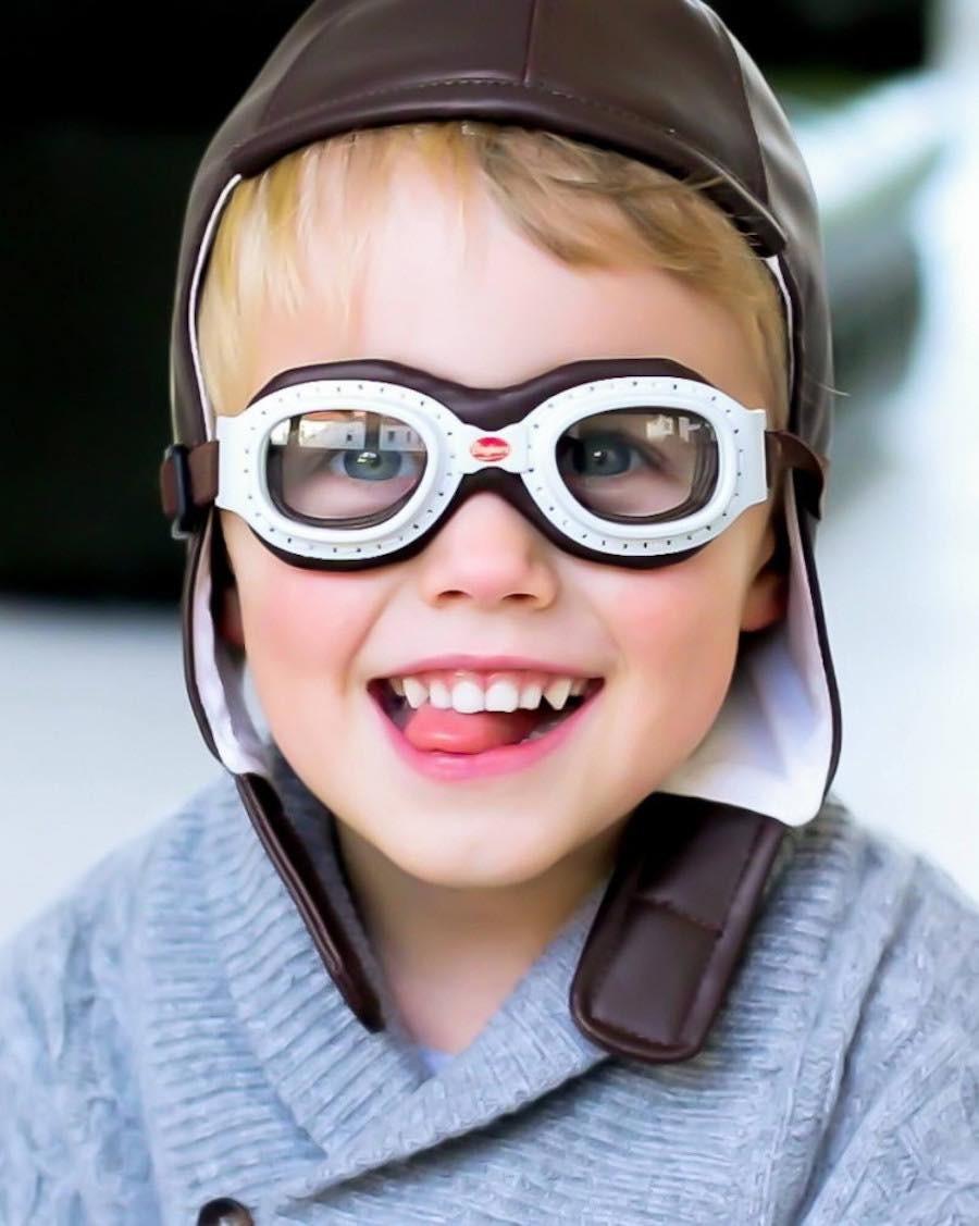 Set de Course - bonnet et lunettes - MyloWonders - Baghera