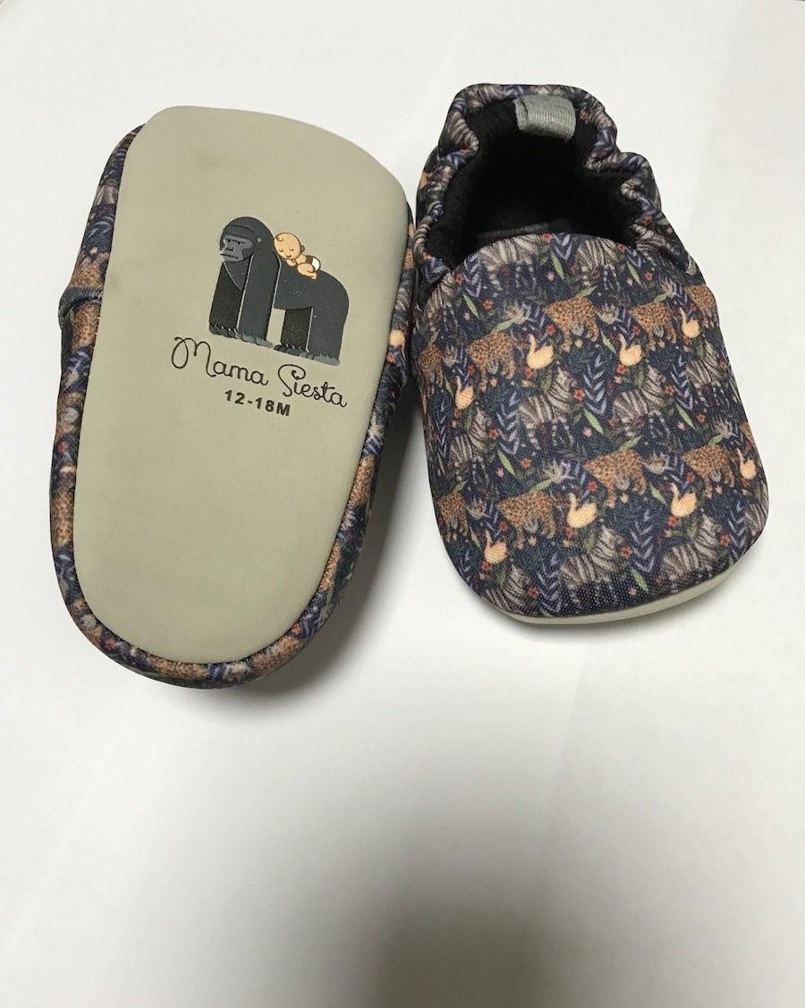 Baby Slippers Jungle - mama siesta - mylowonders