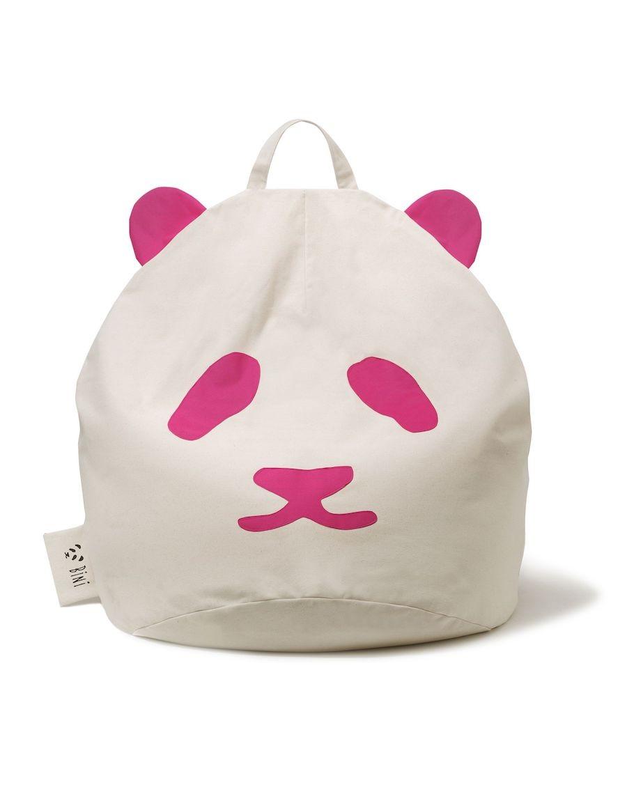 Pouf Panda Bini Original - Rose | MyloWonders