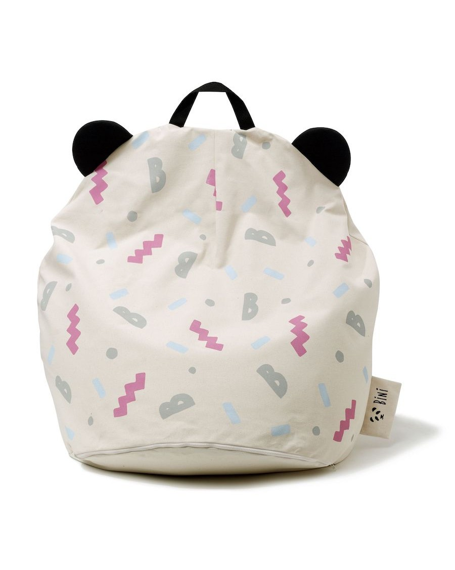 Panda Pouffe B-Girl Pink | MyloWonders