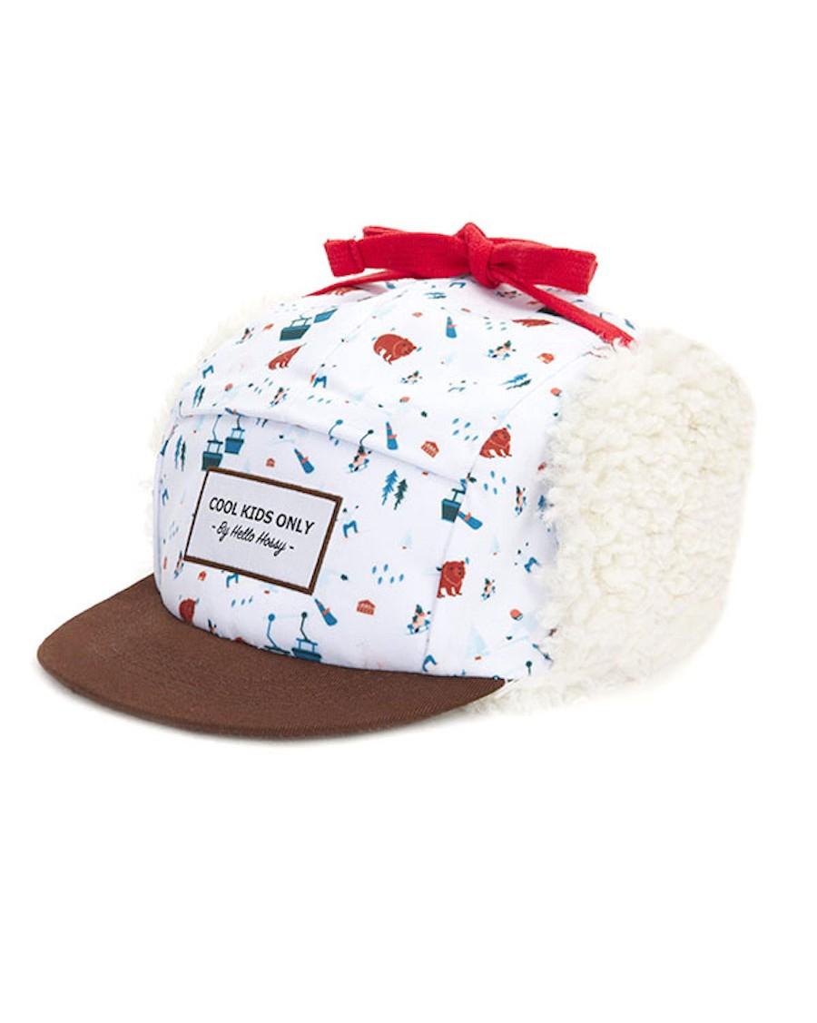 Earflap winter cap Snow Resort kids | Hello Hossy | MyloWonders