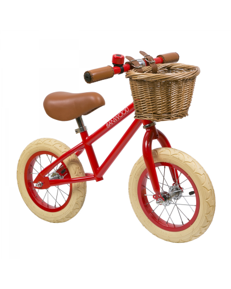 Balance Bike First Go! - Red | Banwood | MyloWonders