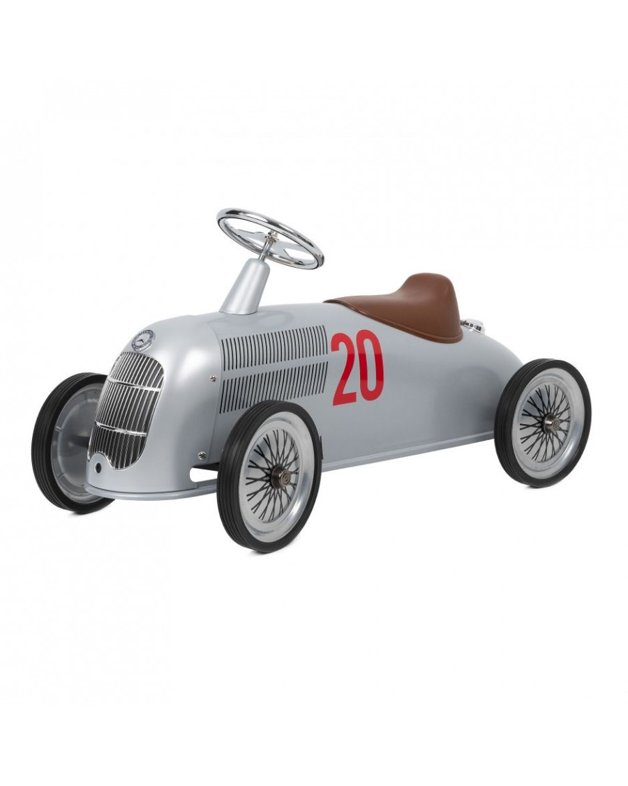 Rider Mercedes-Benz W 25 Silver Arrow | Baghera | MyloWonders