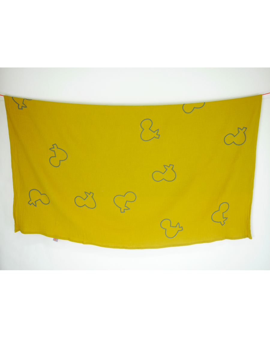 "Yellow ""&"" swaddle"