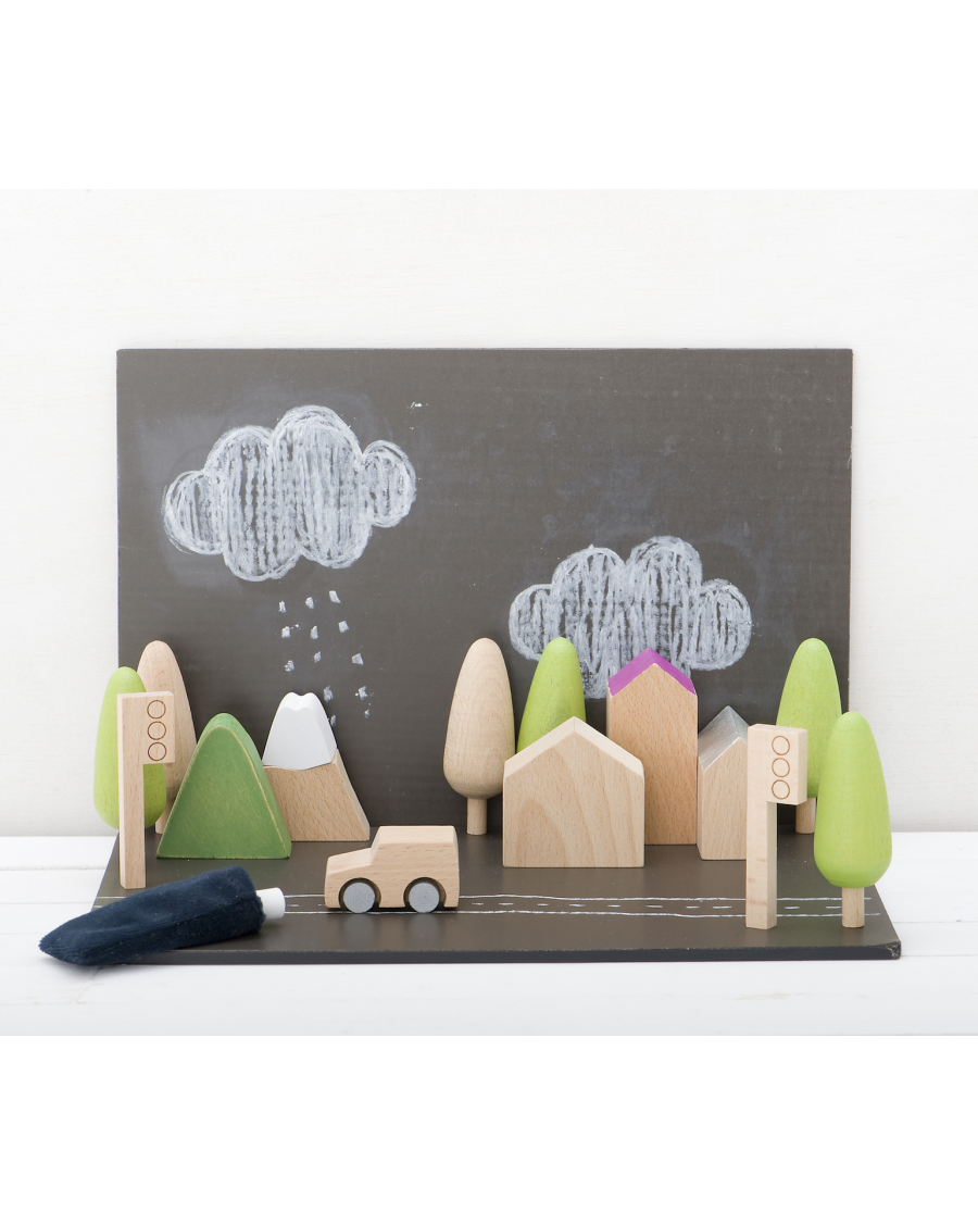 Tiny Town - Magnetic Chalkboards