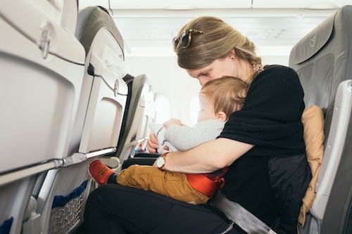 Taking your baby on an aeroplane